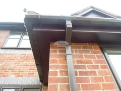 Rosewood fascias and soffits