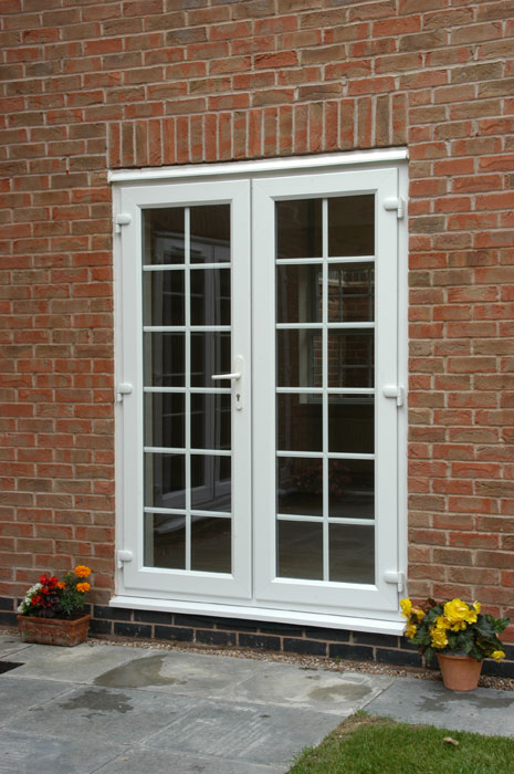 The fascia division portsmouth for Georgian style upvc french doors