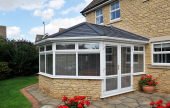 Tile roof conservatory