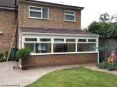 Replacement conservatory roof by The Fascia Division
