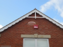 Bespoke decorative fascia with flying trusses Purbrook, Waterlooville