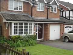 Black square guttering fascia and soffit installation in Waterlooville