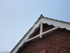 Decorative fascia roof spire Purbrook, Waterlooville
