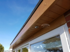 Install new LED lighting into new soffits Widley, Waterlooville