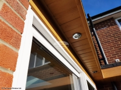 Replace fascias and soffits and install new LED lighting Widley Waterlooville