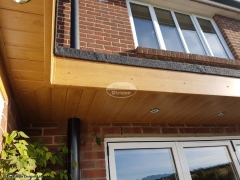 Replace flat roof, fascias and soffits and install LED lighting Widley Waterlooville