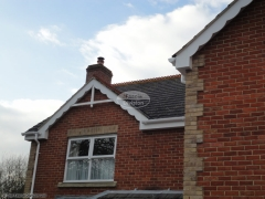 White fascia guttering Purbrook, Waterlooville