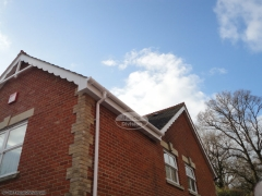 White soffit and fascia Purbrook, Waterlooville