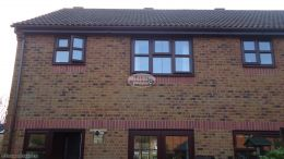 Full replacement of fascias, guttering and soffits to detached house in Fareham