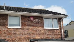 fascia replacement portsmouth new soffits white half round guttering contractor roofing
