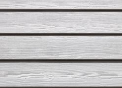 Hardieplank weatherboard cladding close up