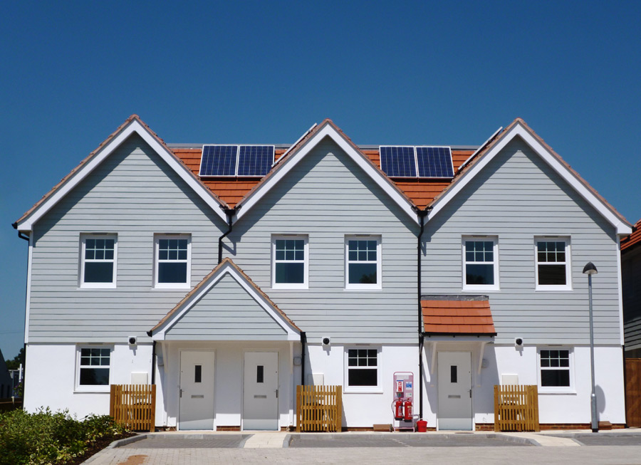 Weatherboard cladding installers the fascia division for James hardie exterior design center