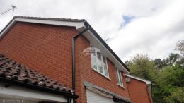 Installation Of New Upvc Fascias Soffits And Guttering On A Detached Property In Waterlooville