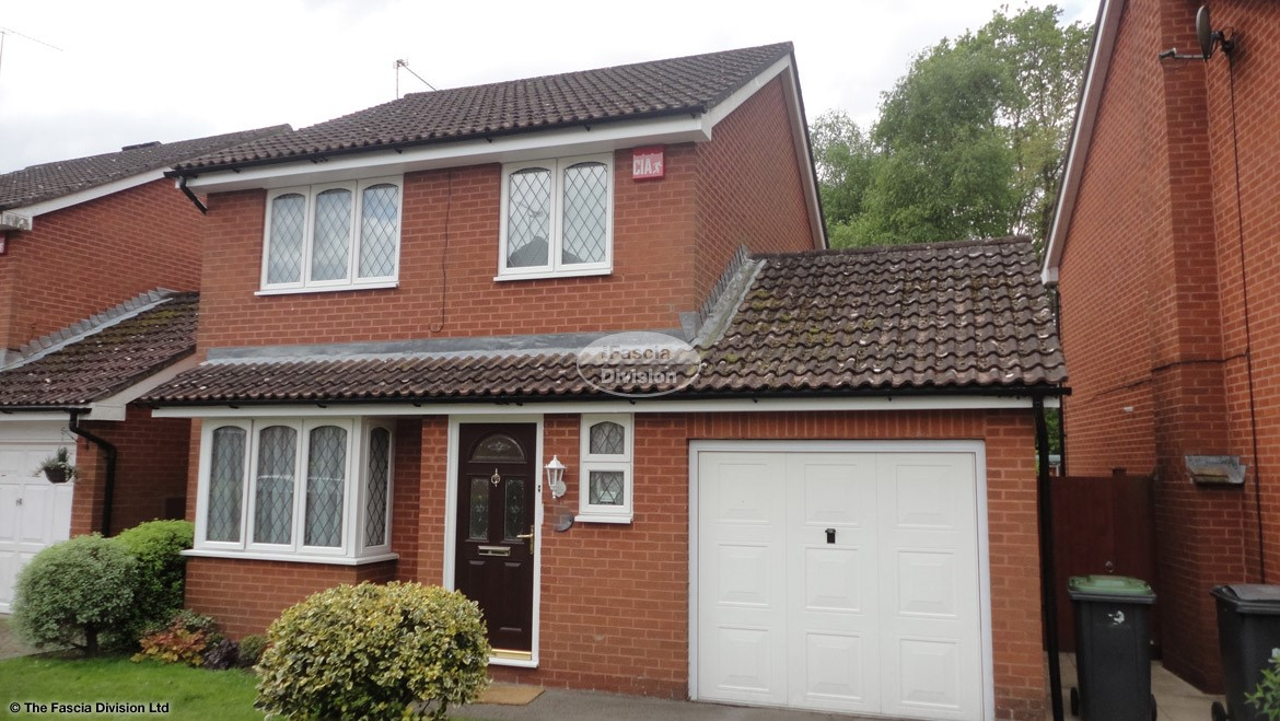 Recent Full Installation Of Upvc Fascia Boards Soffits And Guttering On A Detached Property In Waterlooville