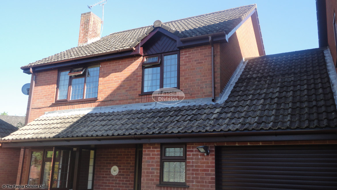 Replacement soffits fascia boards and guttering in Waterlooville