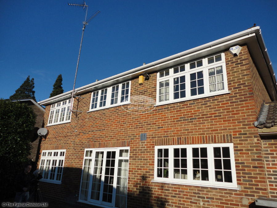 New replacement fascias, soffits and guttering