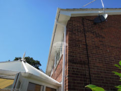 Replace fascia, soffit and guttering on a property in Fareham