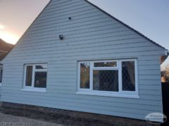Hardieplank weatherboard cladding installation in Littlehampton
