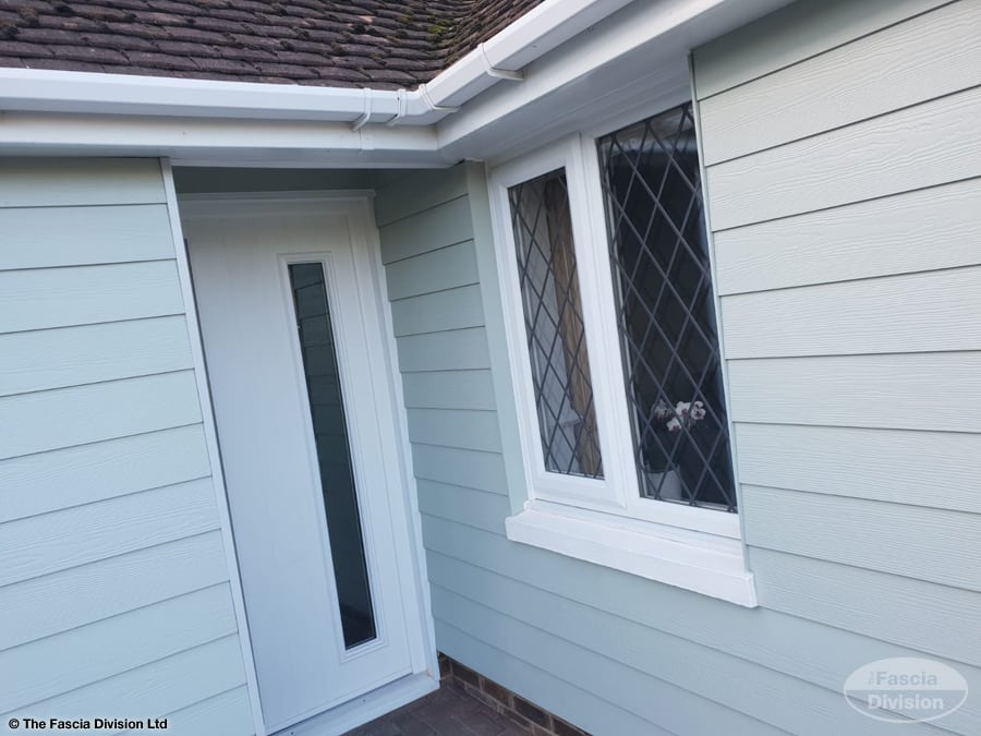 Weatherboard cladding installation in Littlehampton