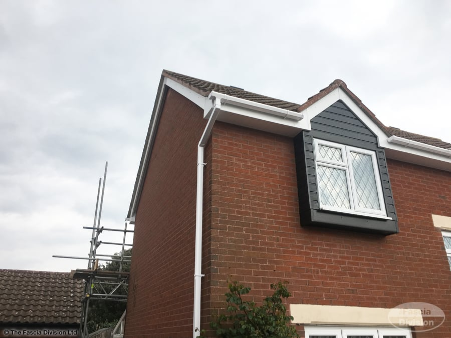 Fascia Division Portsmouth recent installation of fascia, soffits, guttering and cladding
