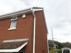 UPVC fascias and guttering installation in Portchester