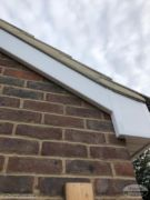 new bargeboards cement roof verge
