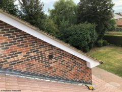 Rebedded roof verge