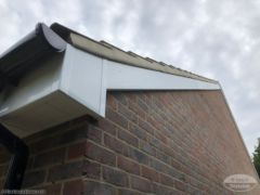 Replace fascias, soffits, guttering and cement verges