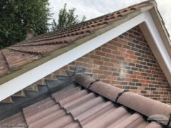 Roof verge repointing