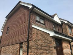 UPVC soffits and fascias on a house