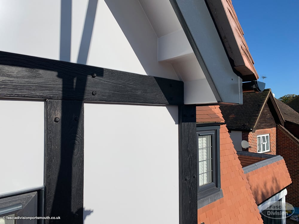 new fascias, soffits and guttering installation